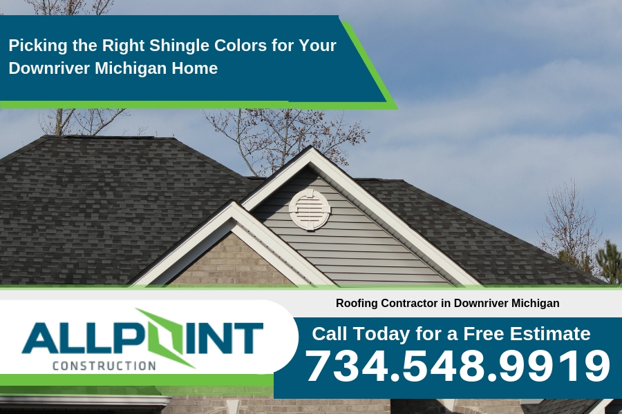 Picking the Right Shingle Colors for Your Downriver Michigan Home