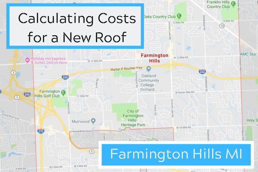 Calculating Costs for a New Roof