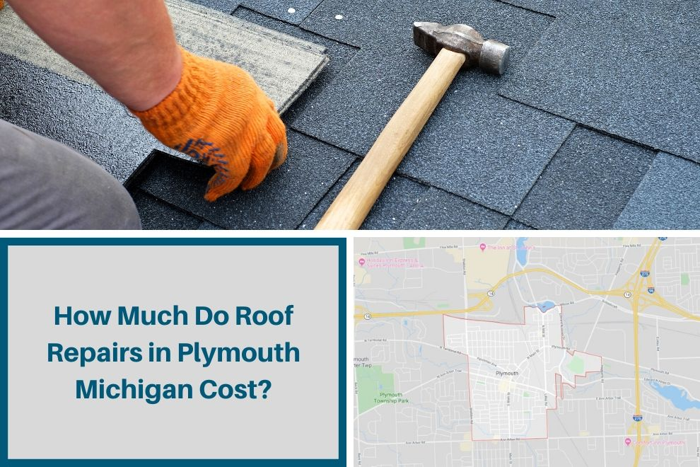 How Much Do Roof Repairs in Plymouth Michigan Cost?