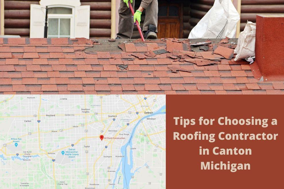 Canton MI Roofing Company