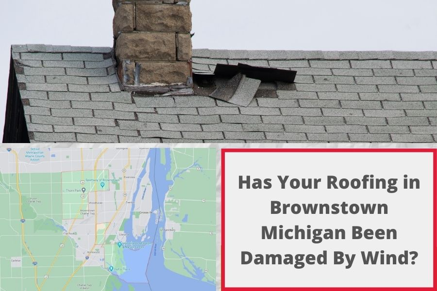 Roof Damage Brownstown MI