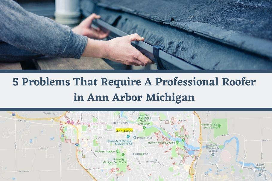 Roof Repairs Ann Arbor MI