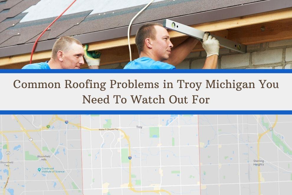 Troy MI Roofing