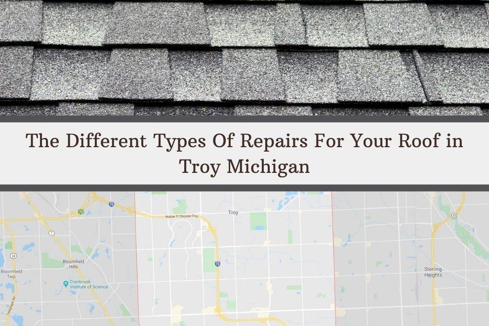 Troy MI Roof Repairs