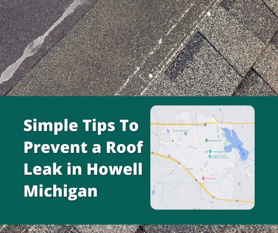 Roof Repair Howell MI