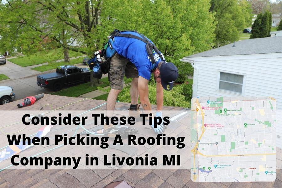 Roofer Livonia MI