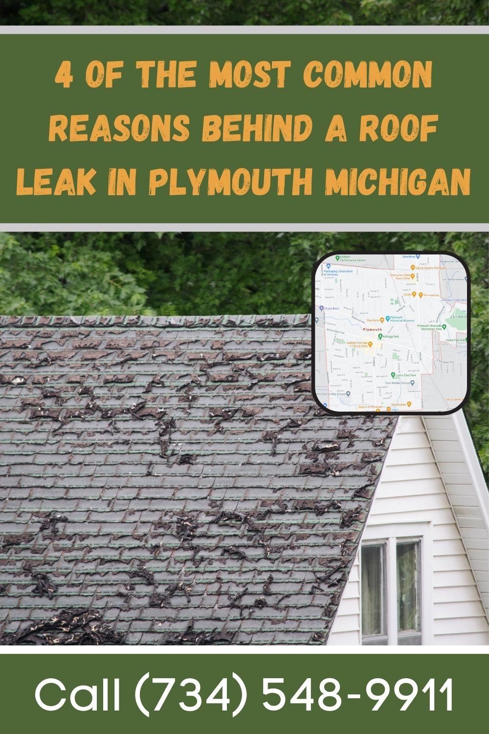 Plymouth Michigan Roof Replacement