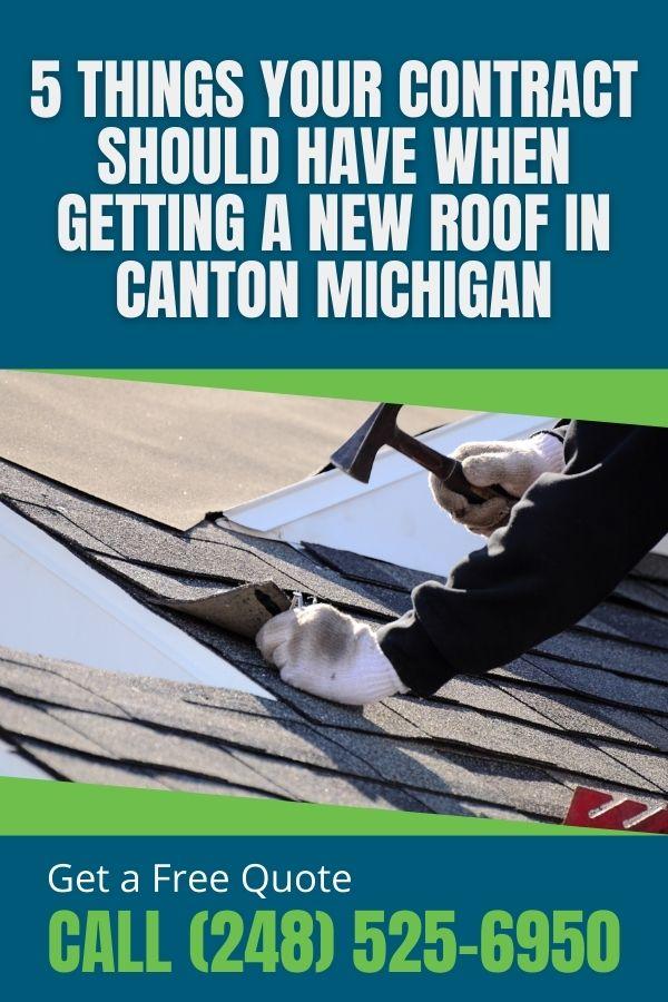 Canton MI Roofer